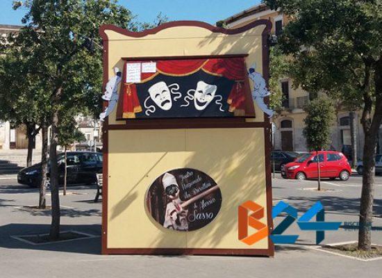 Appuntamento immancabile per grandi e piccini, torna il teatro dei burattini in piazza Vittorio Emanuele