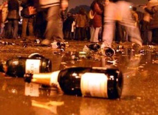 Divieto vendita bottiglie di vetro durante la fascia oraria notturna per tutta l'estate
