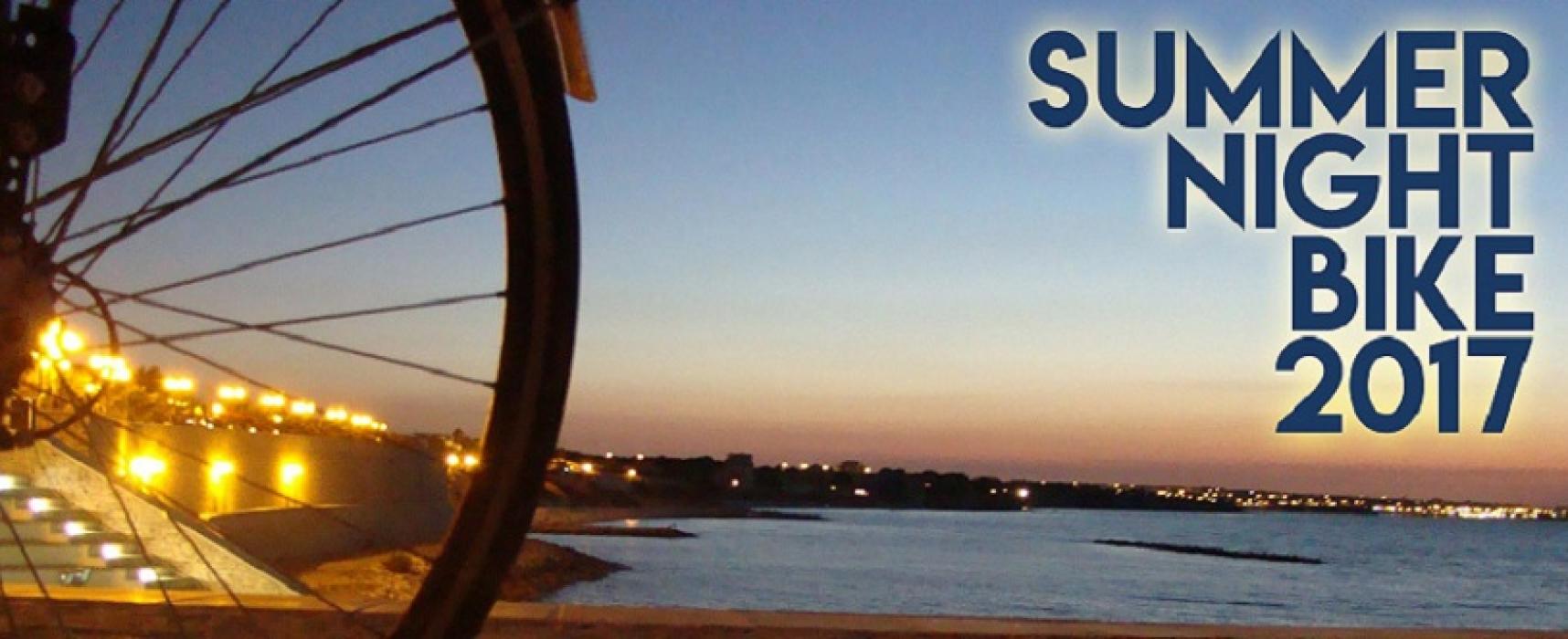 Summer night bike, domani sera l'ultima ciclopasseggiata targata Biciliæ