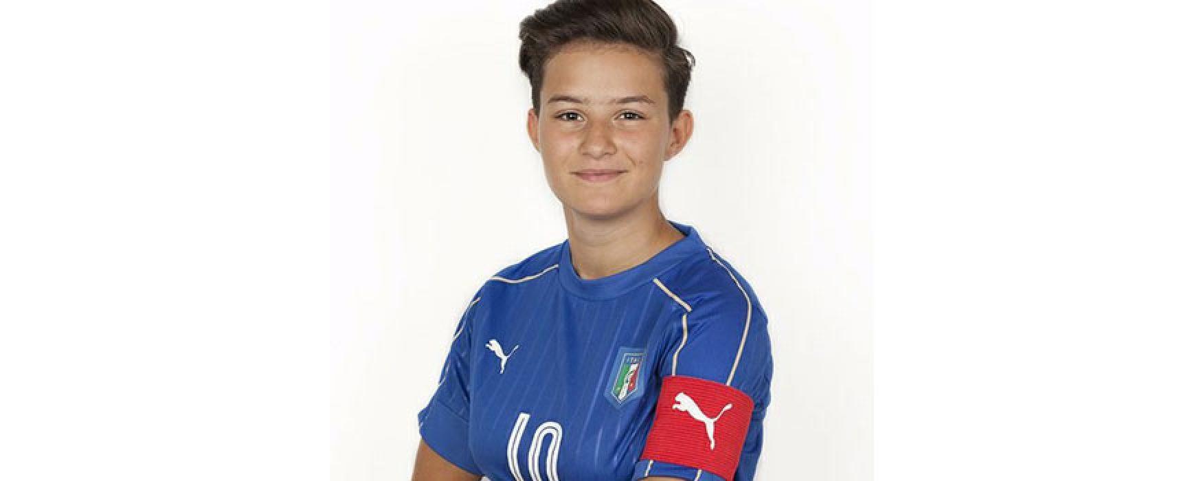 Bisceglie Femminile: Scommegna tra le 19 convocate dell'Italia Under 17