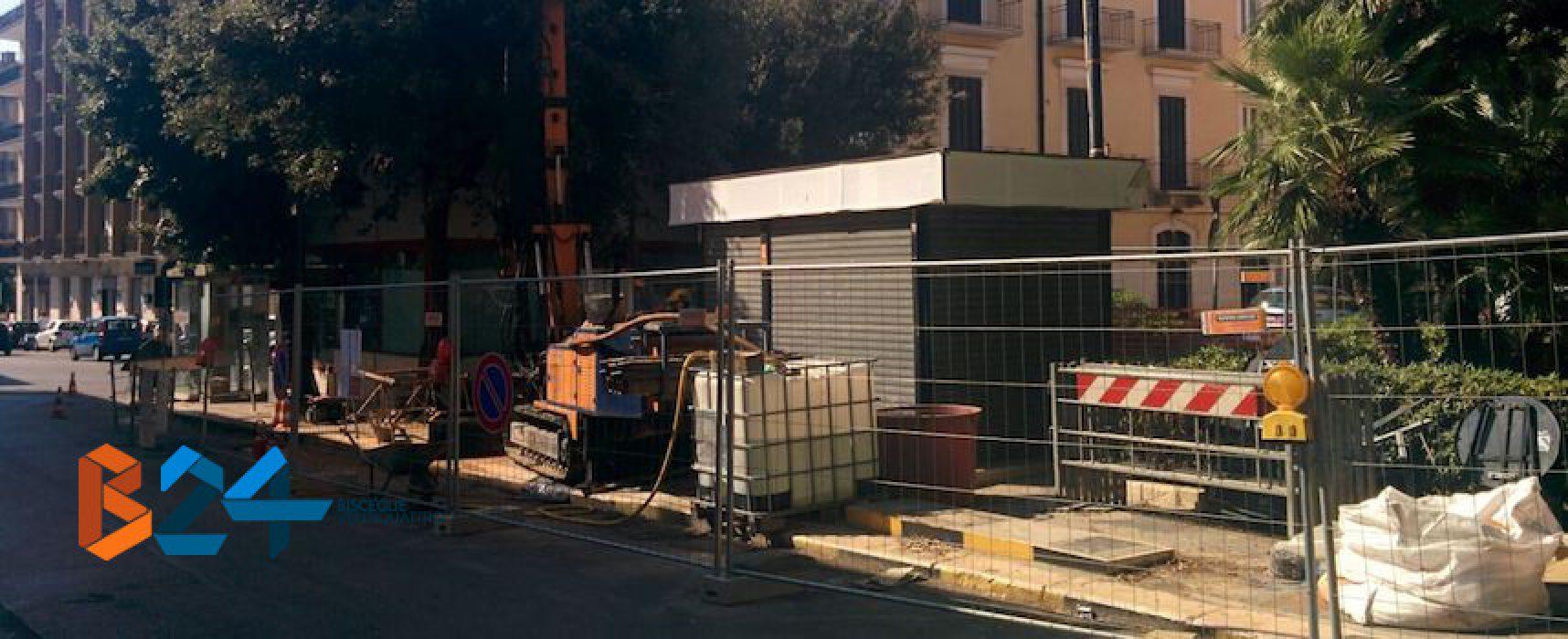 Rimozione distributore carburante di largo canonico Pasquale Uva: tutte le limitazioni al traffico