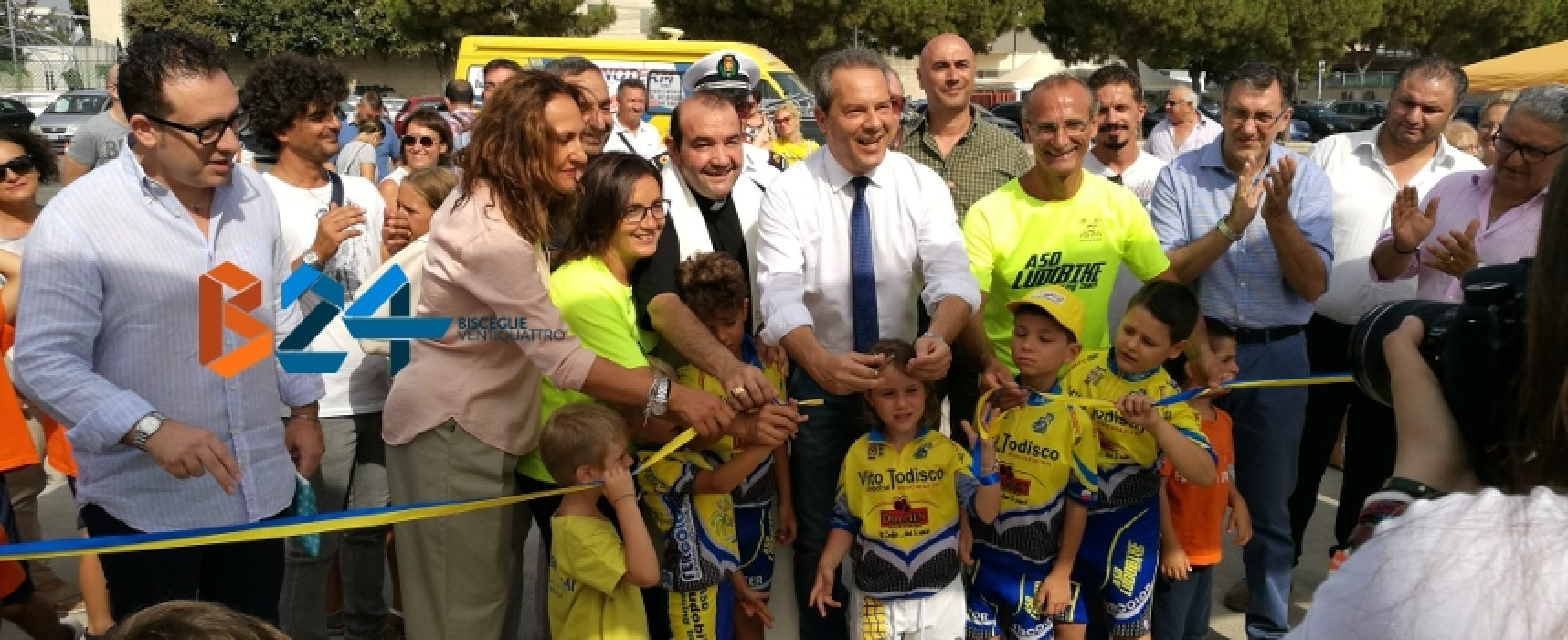 Inaugurato il primo bike park cittadino gestito dalla scuola di ciclismo Ludobike / FOTO