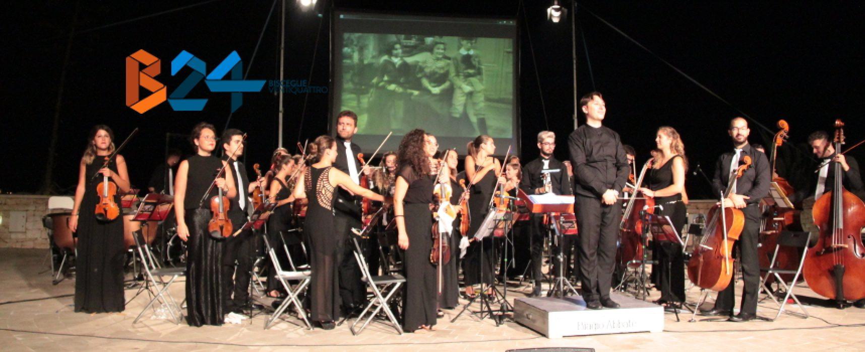 """Fondazione Biagio Abbate, le più belle colonne sonore in una """"Notte da Oscar"""" al Teatro Mediterraneo / FOTO"""