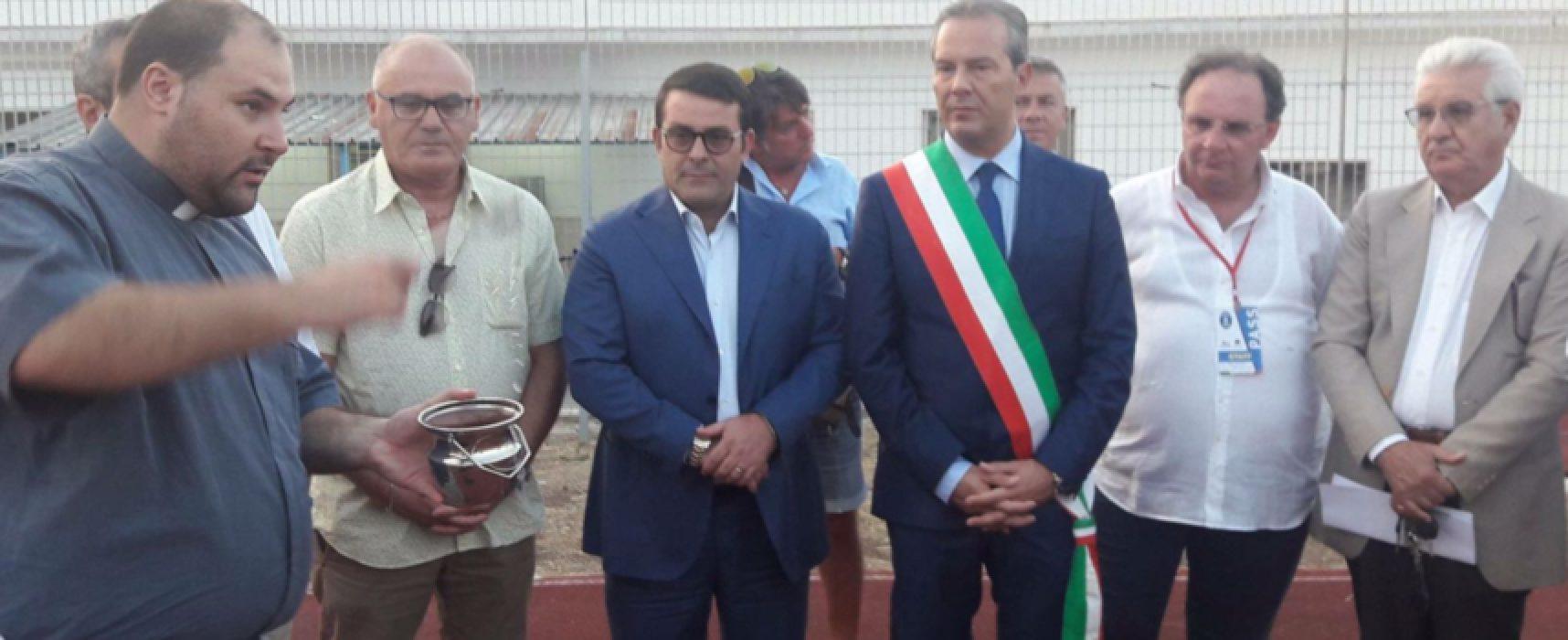 """Presentati i lavori al """"Ventura"""", """"procedure a tempo di record per giocare le prime partite"""""""