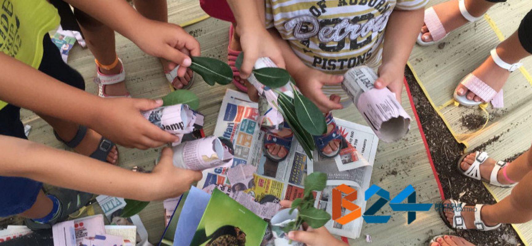 Al giardino botanico Veneziani i bimbi imparano divertendosi con la Summer Green School