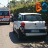 Tamponamento a catena su via Giovanni Bovio, 68enne al pronto soccorso