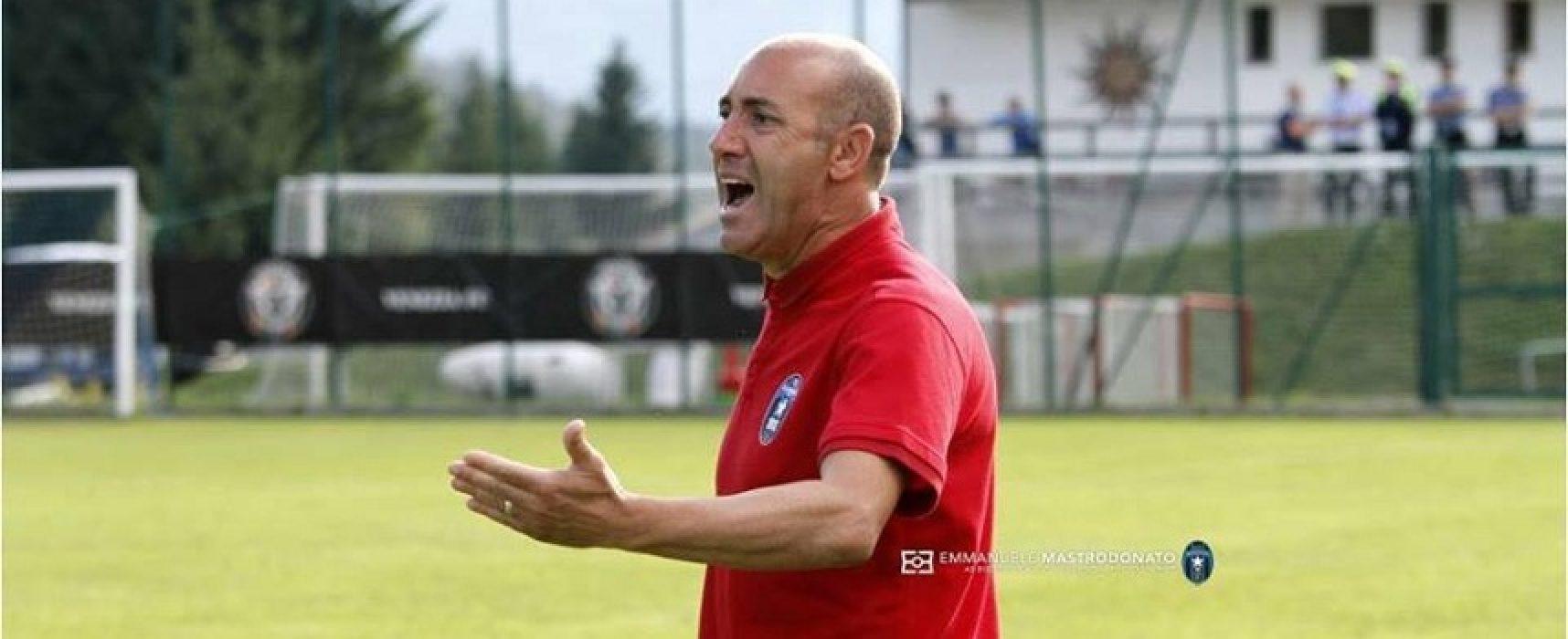 """Bisceglie, Zavettieri non fa drammi dopo la sconfitta col Catanzaro: """"E' importante imparare dagli errori"""""""