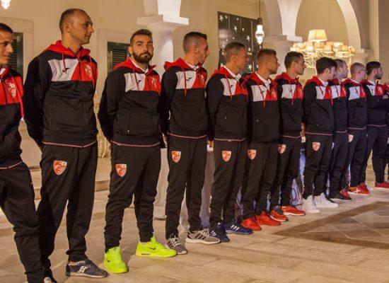Diaz: ieri la presentazione, oggi esordio casalingo contro il Futsal Brindisi / VIDEO e FOTO