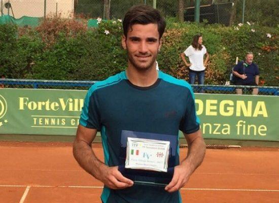 Tennis, Pellegrino è super: doppio trionfo a Santa Margherita di Pula