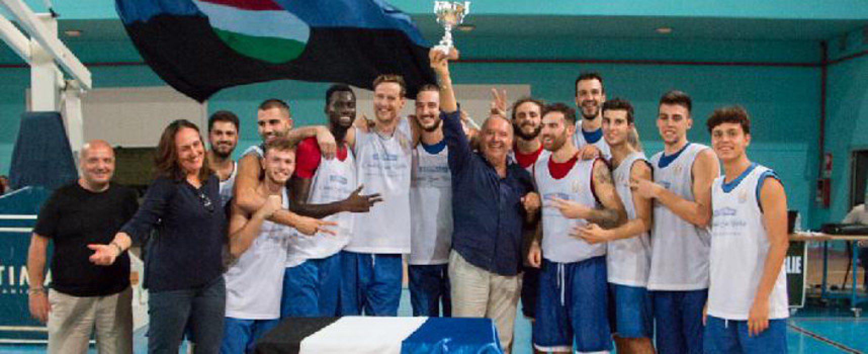 """Basket, la Di Pinto Panifici Bisceglie conquista il trofeo """"Casale San Nicola"""""""