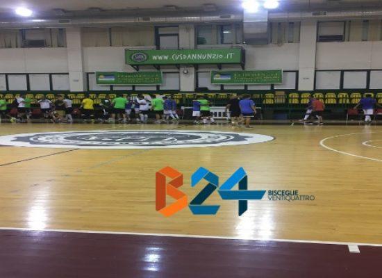 Il Futsal Bisceglie sconfitto in amichevole dall'Acqua e Sapone