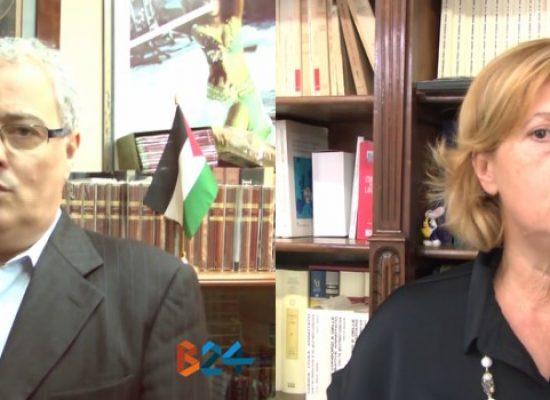 Decadenza Spina, interviste a Tonia Spina (Direzione Italia) e Franco Napoletano (PCdI) / VIDEO