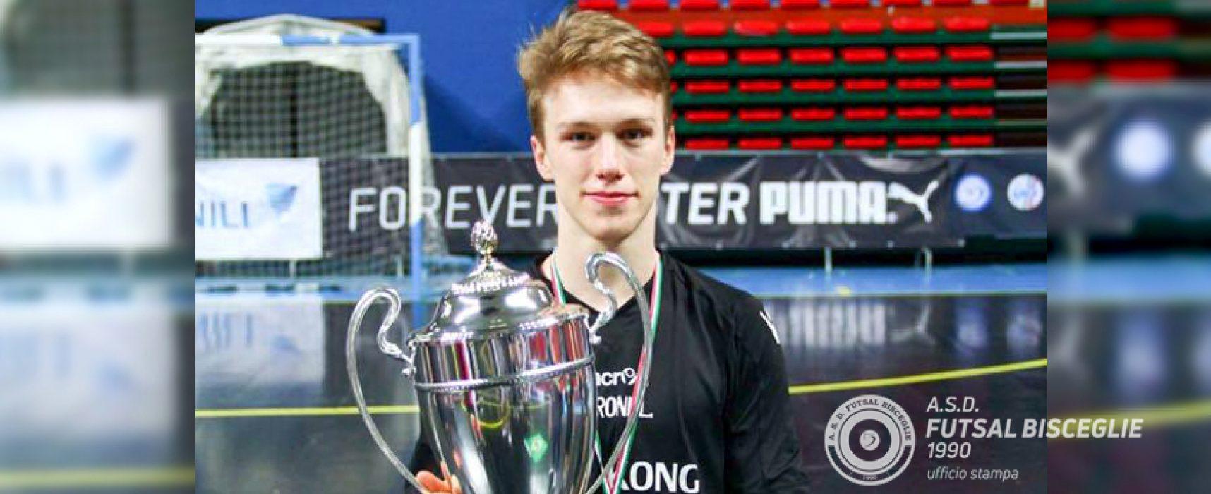 Lucas Baroni è l'ultimo colpo di mercato del Futsal Bisceglie