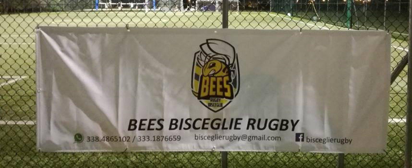 Rugby a Bisceglie: sabato torneo giovanile in casa dei Bees, lunedì convegno al II circolo