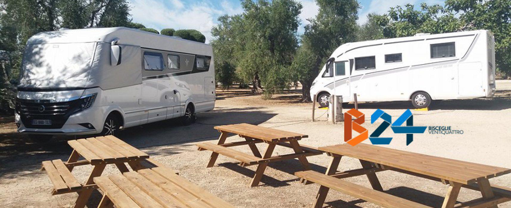 """Camperisti da tutta Europa a """"Brezza tra gli ulivi"""", tra visite guidate, tipicità culinarie e relax"""