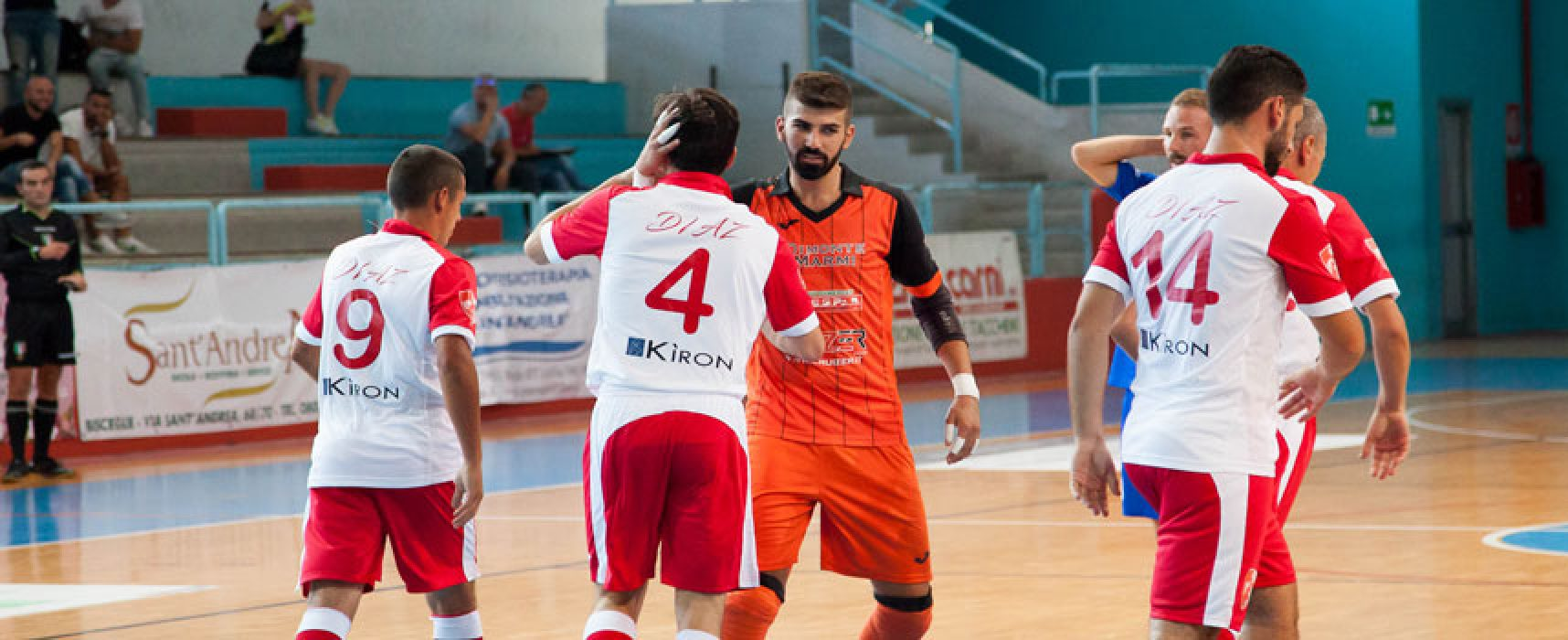 Diaz-Aquile Molfetta 6-2 / VIDEO HIGHLIGHTS