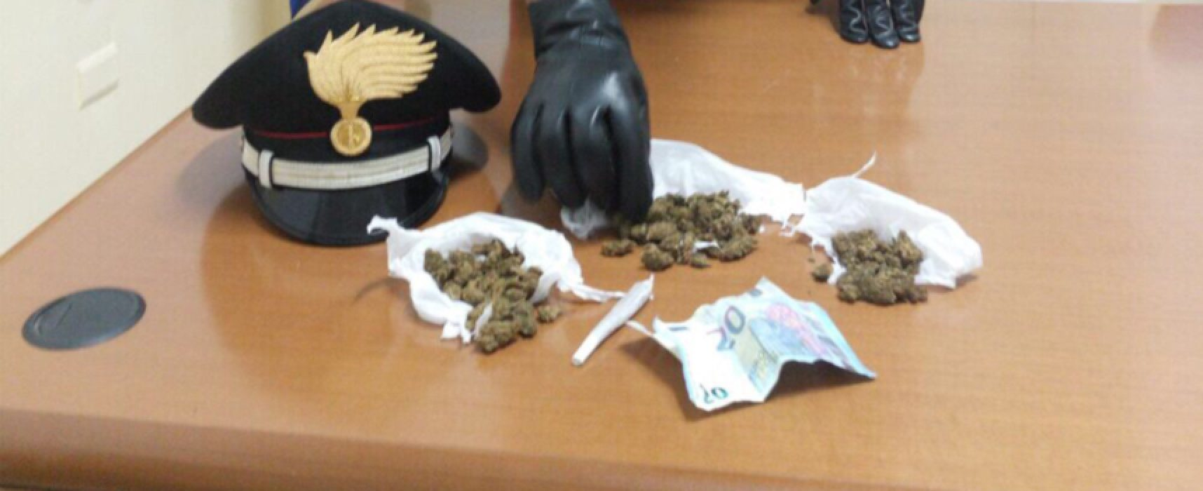 Droga: pusher 35enne arrestato in via Imbriani