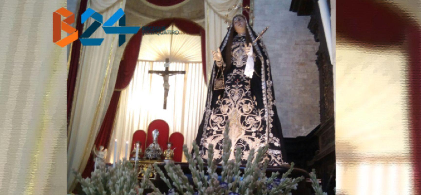 Festa Madonna Addolorata, al via le celebrazioni in onore della co-patrona di Bisceglie