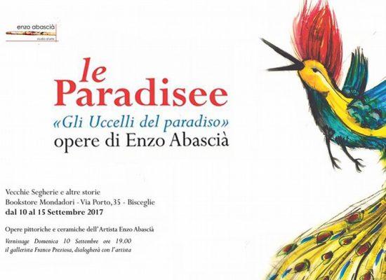 Le Paradisee, personale di Enzo Abascià alle Vecchie Segherie