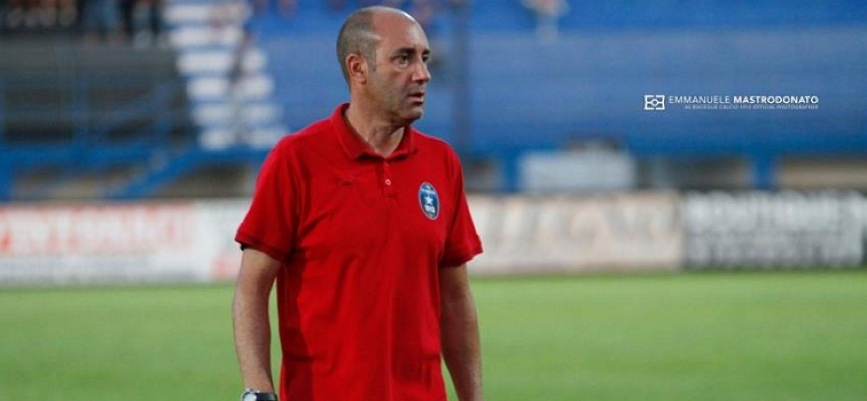 """Bisceglie Calcio, Zavettieri: """"Mi aspetto una risposta importante dalla squadra contro la Sicula Leonzio"""""""