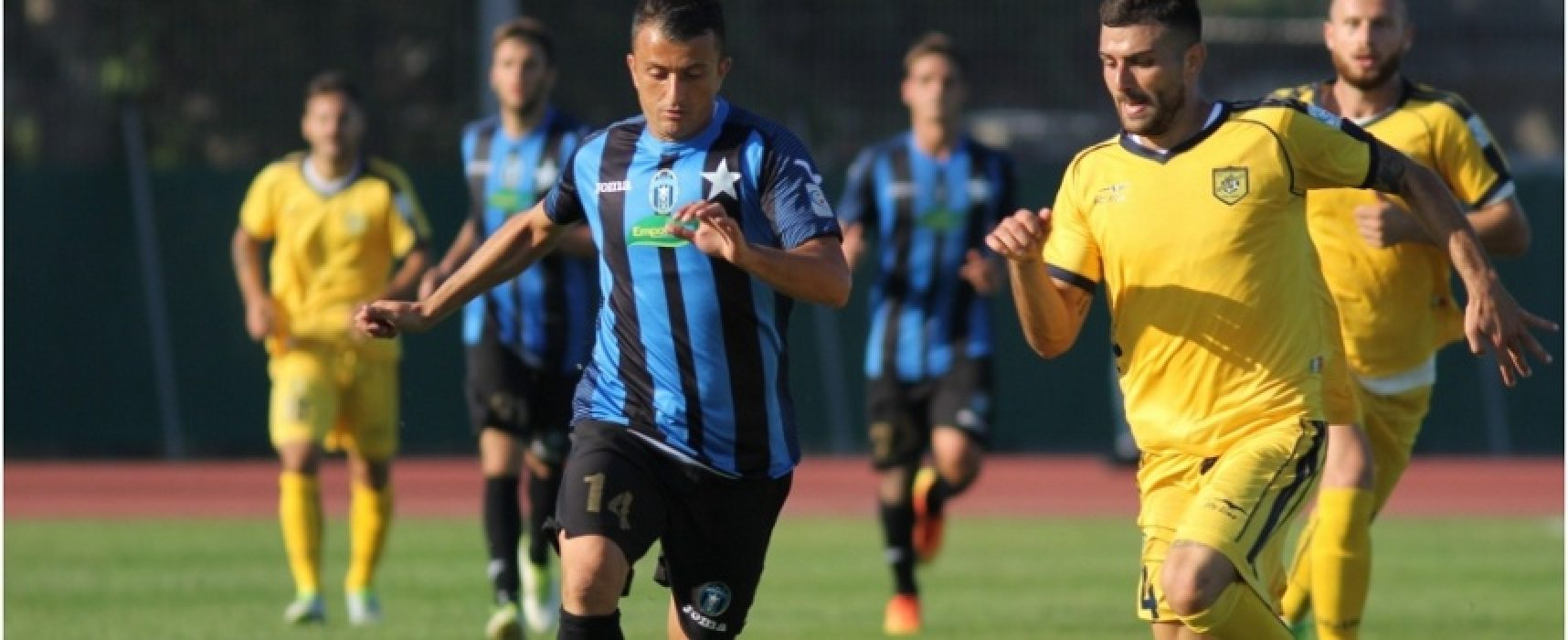 Bisceglie, testa alla Coppa: al Ventura arriva la Virtus Francavilla