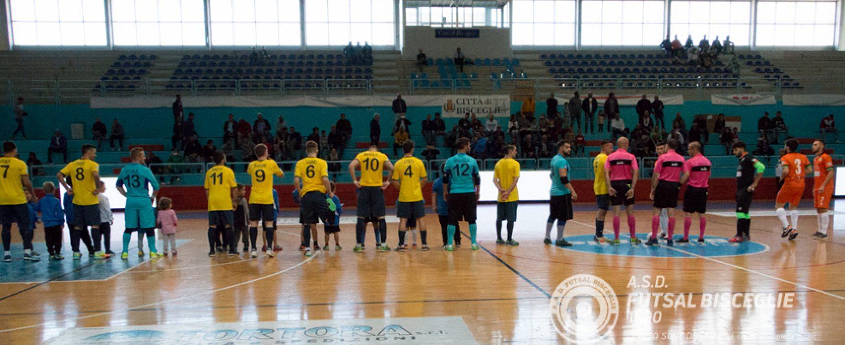 Futsal Bisceglie, esordio amaro contro il Meta