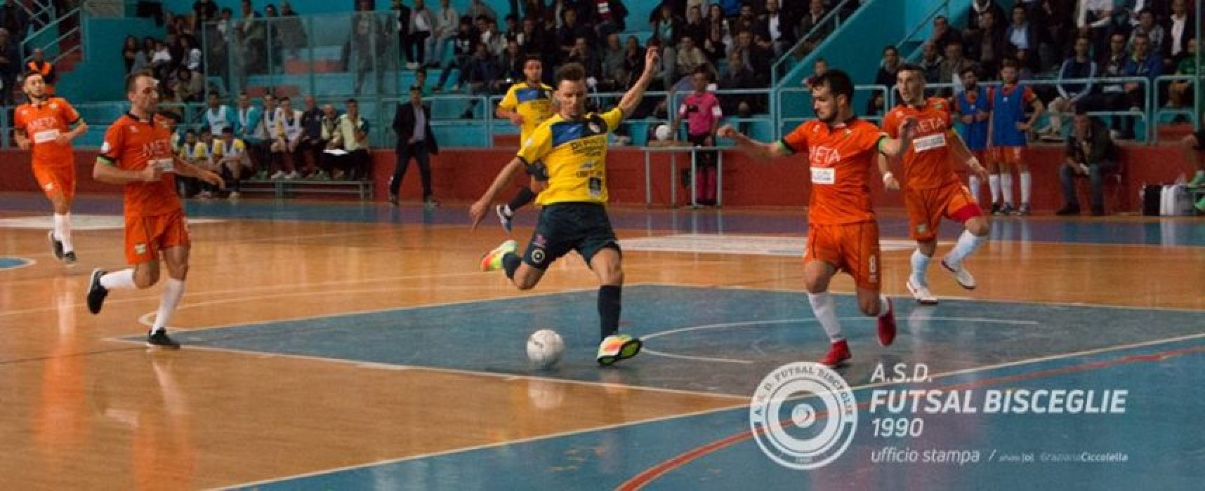 Futsal Bisceglie – Meta 2-3 / HIGHLIGHTS VIDEO