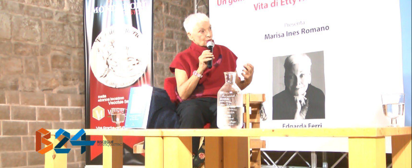 Edgarda Ferri alle Vecchie Segherie Mastrototaro racconta la vita di Etty Hillesum / VIDEO