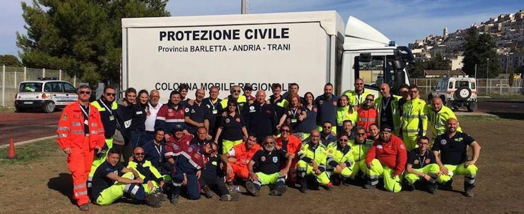 Gli operatori emergenza radio di Bisceglie impegnati in prima fila per il Sismic Bat Puglia