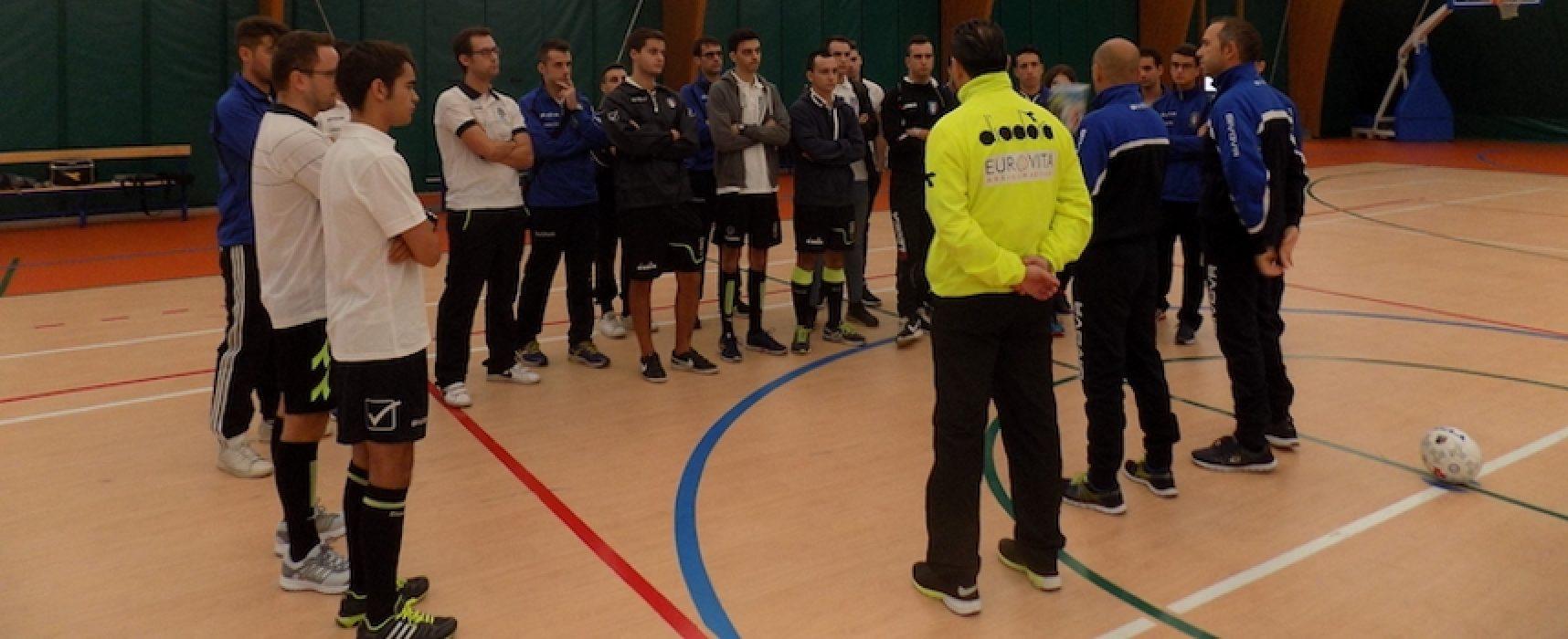 Futsal, a Bisceglie raduno tecnico dedicato agli arbitri neo-immessi nel movimento regionale / FOTO