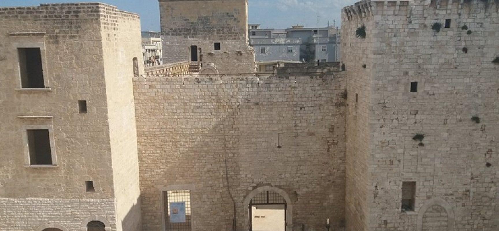 Castello Svevo, gli appuntamenti artistico-culturali della seconda metà di novembre