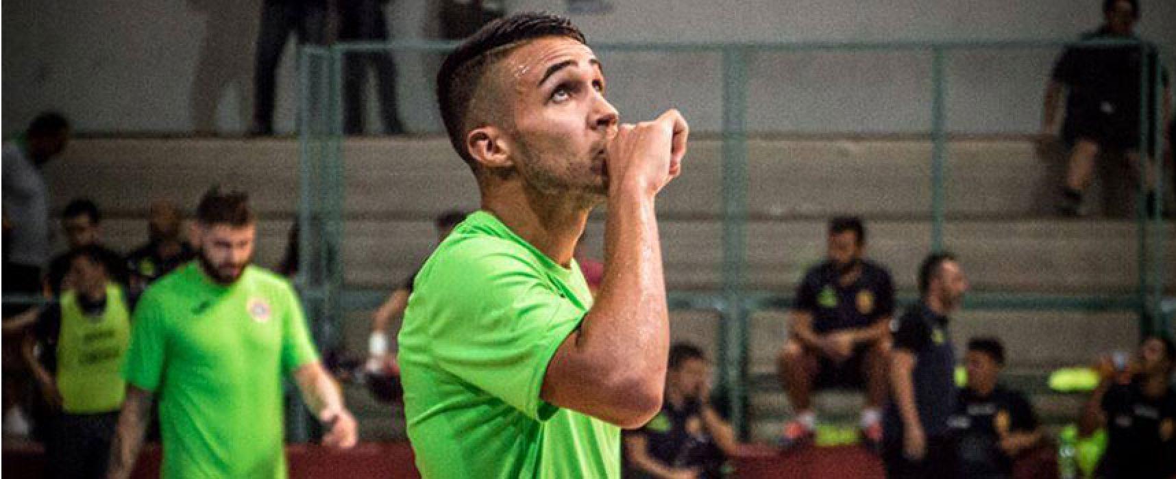 Pirotecnico pari interno del Futsal Bisceglie contro il Barletta
