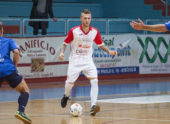 Coppa Italia serie C1: Diaz raggiunta a tempo scaduto dal Futsal Andria