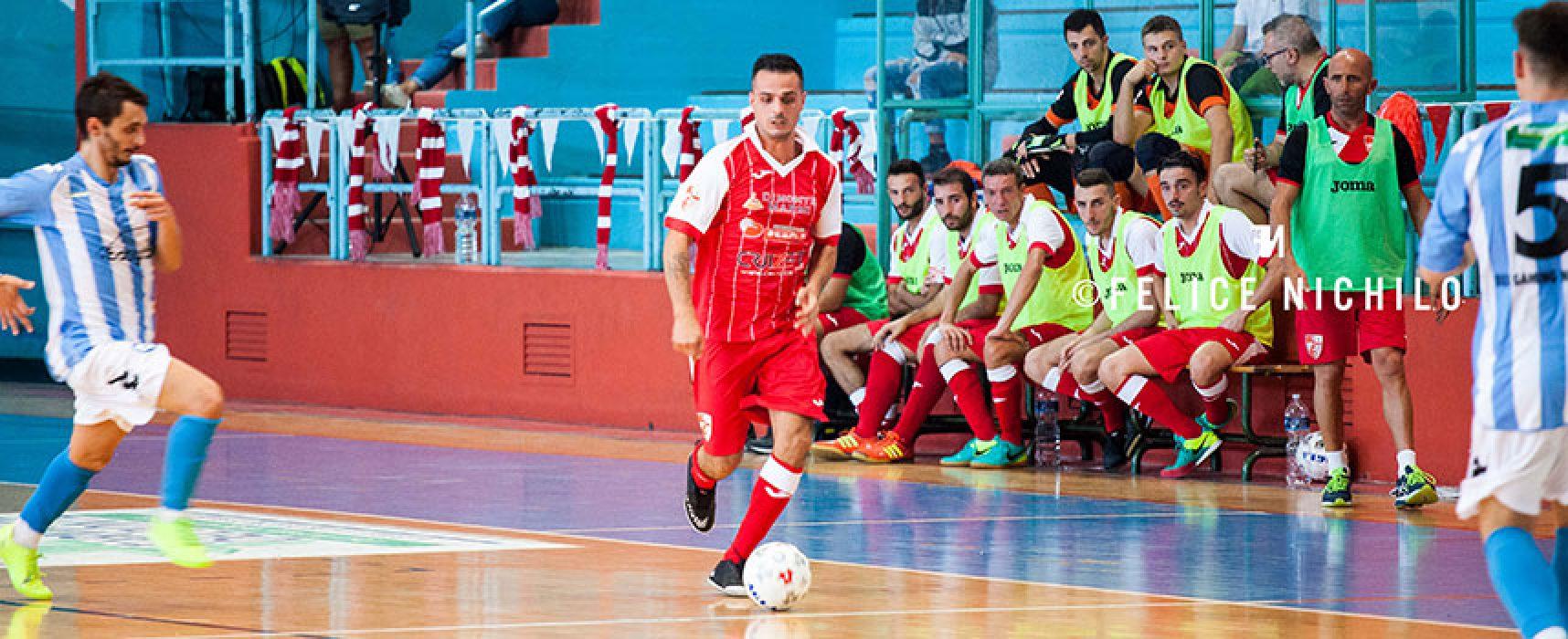 Diaz, prova di maturità in casa del Futsal Salapia
