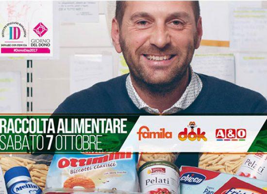 #Donoday2017, raccolta alimentare sabato 7 ottobre a Bisceglie