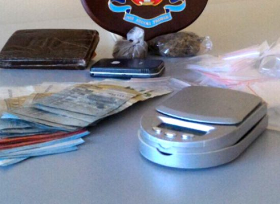 Trovato con droga durante una perquisizione, arrestato 20enne biscegliese