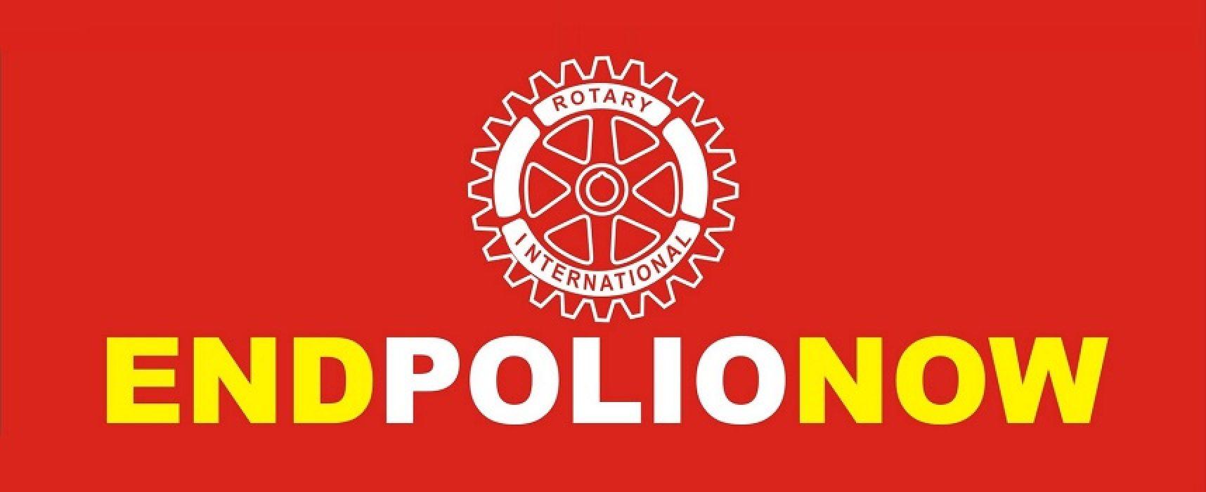 """Sabato 4 novembre l'evento """"End Polio Now"""" per la lotta alla poliomielite"""