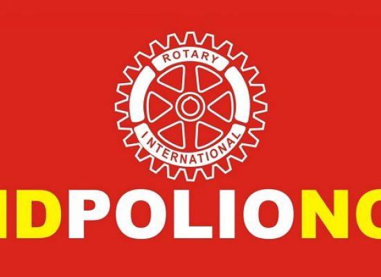 """""""End polio now"""", il Rotary Club di Bisceglie prende parte alla lotta contro la poliomielite"""