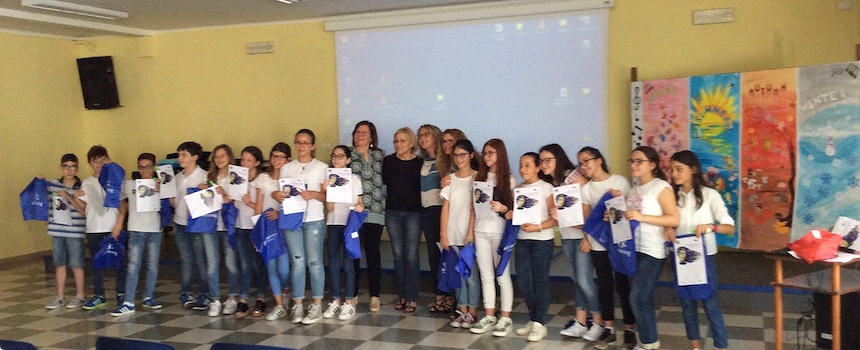 Quality Label nazionale e menzione speciale al progetto eTwinning della scuola Monterisi