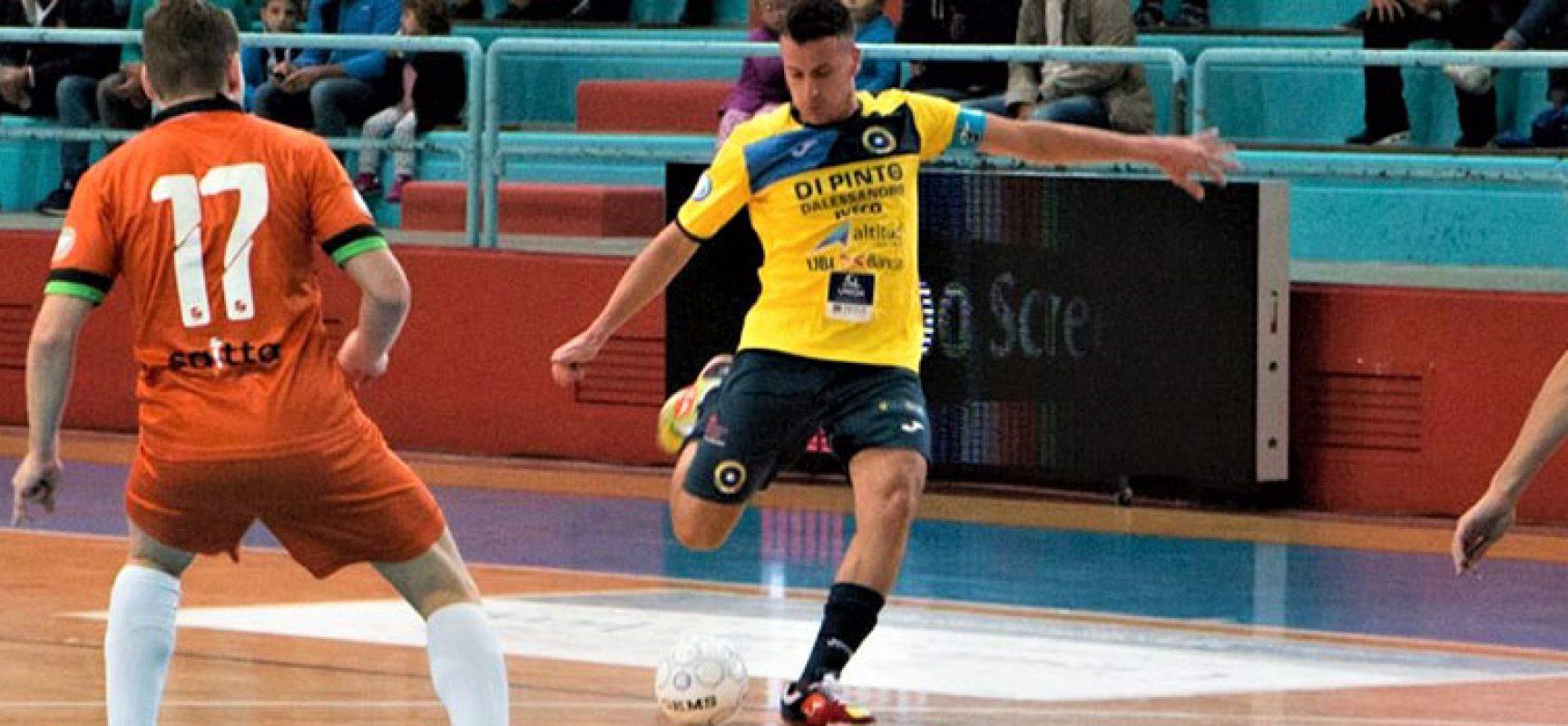 Pedone saluta il Futsal Bisceglie per tornare alle Aquile Molfetta