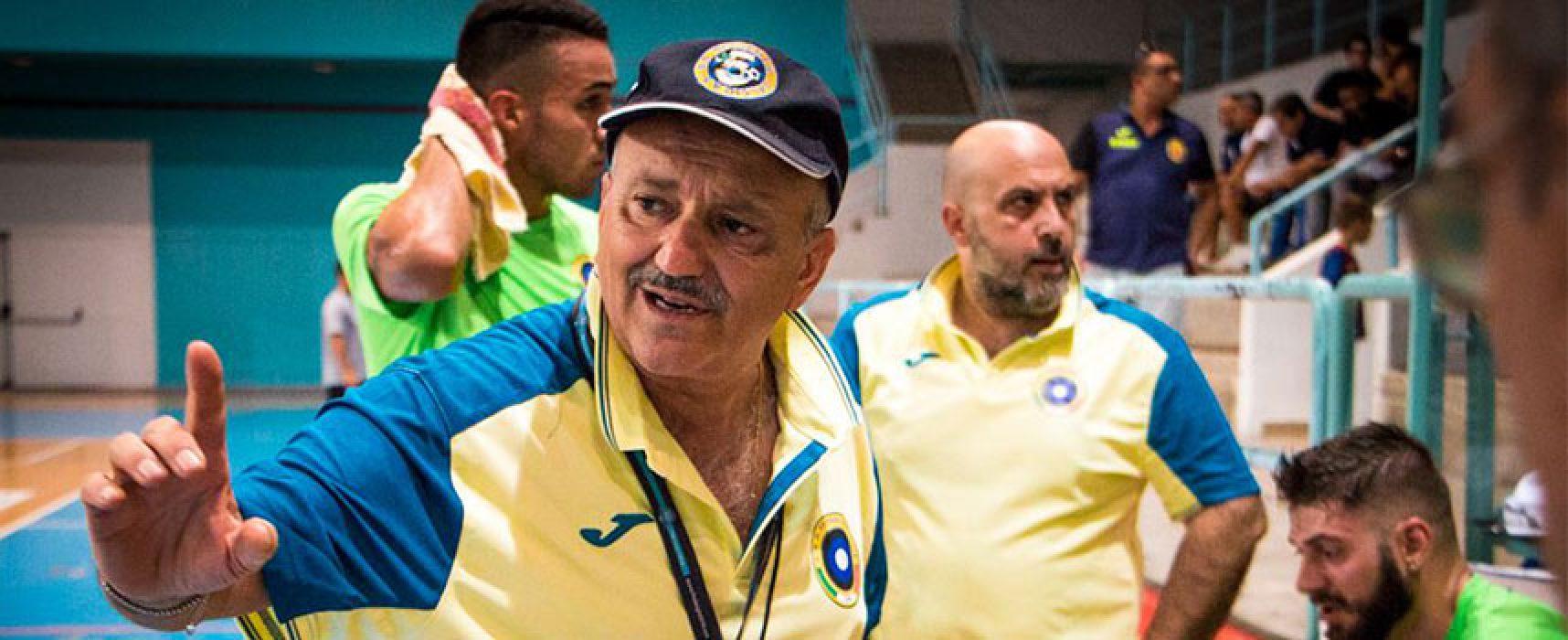 Futsal Bisceglie, è tempo di Coppa: oggi trasferta a Sammichele