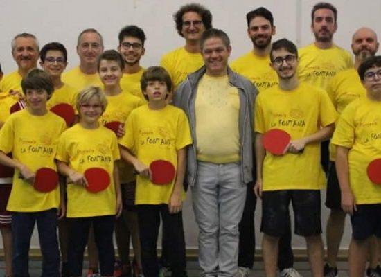 Tennis Tavolo Dolmen, ottimo inizio di stagione con tre vittorie consecutive