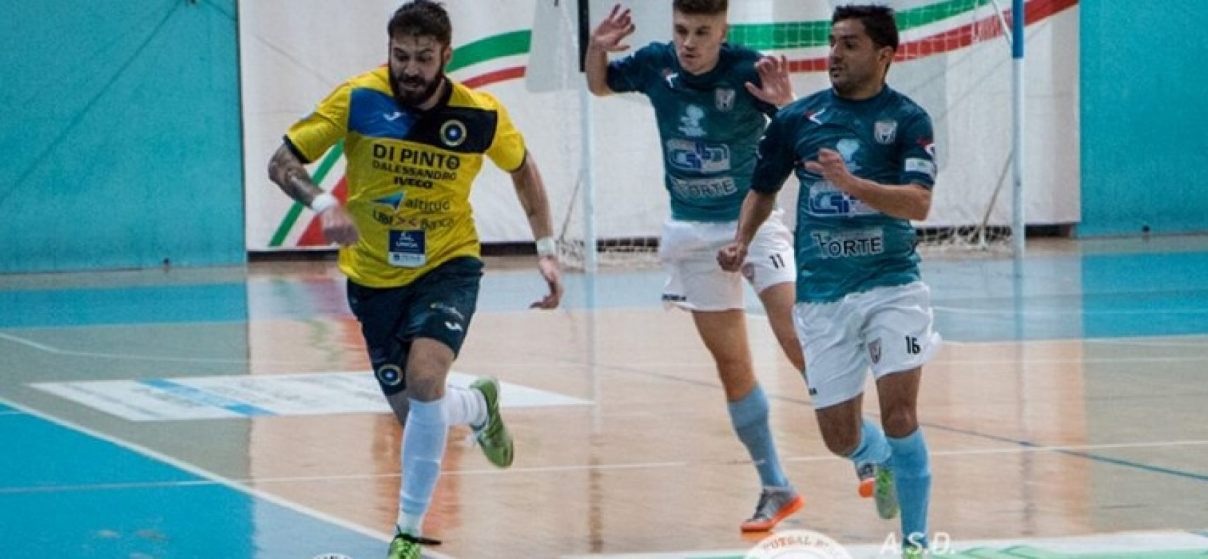 Futsal Bisceglie ancora ko, al Paladifiore si impone il Lido di Ostia