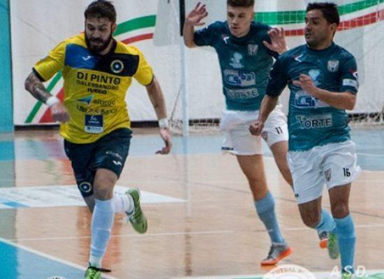 Emozioni e spettacolo, il Futsal Bisceglie impatta 3-3 a Noicattaro
