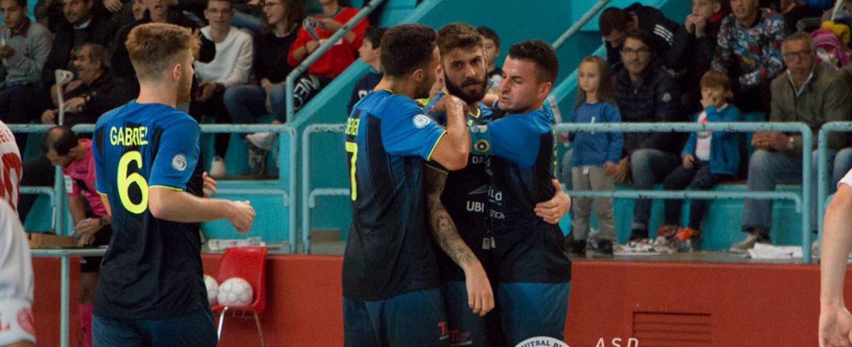 Futsal Bisceglie, nulla da fare contro il Maritime Augusta