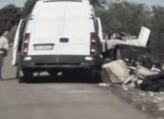 Rifiuti: abbandono selvaggio in trasferta, biscegliese multato ad Andria