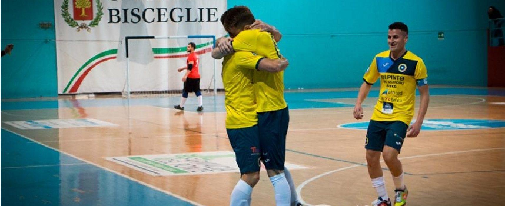 Il Futsal Bisceglie supera 8-2 il Sammichele in Coppa della Divisione // HIGHLIGHTS VIDEO