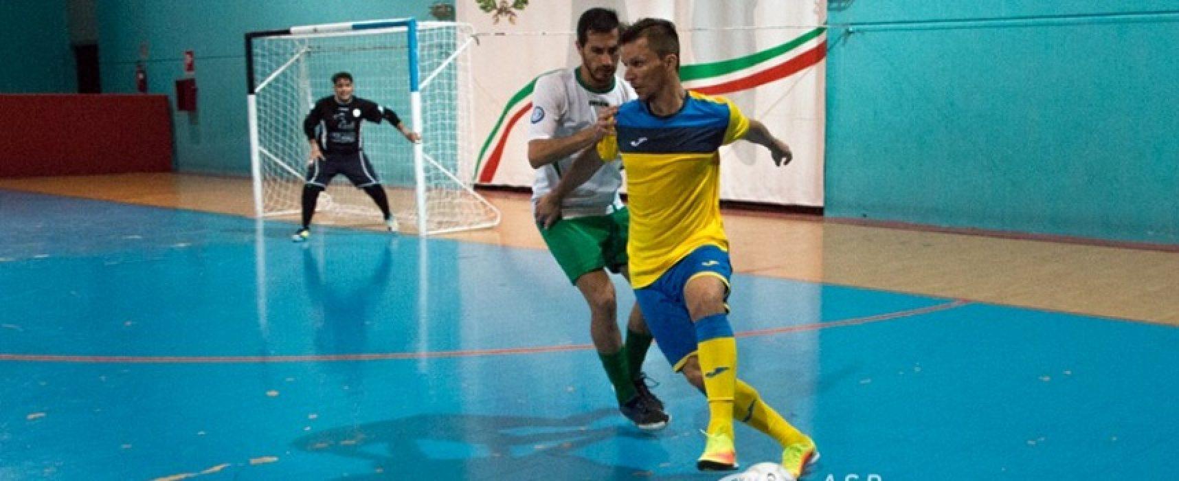 """Futsal Bisceglie, la carica di Jeffe: """"Vogliamo regalare una gioia ai nostri tifosi"""""""