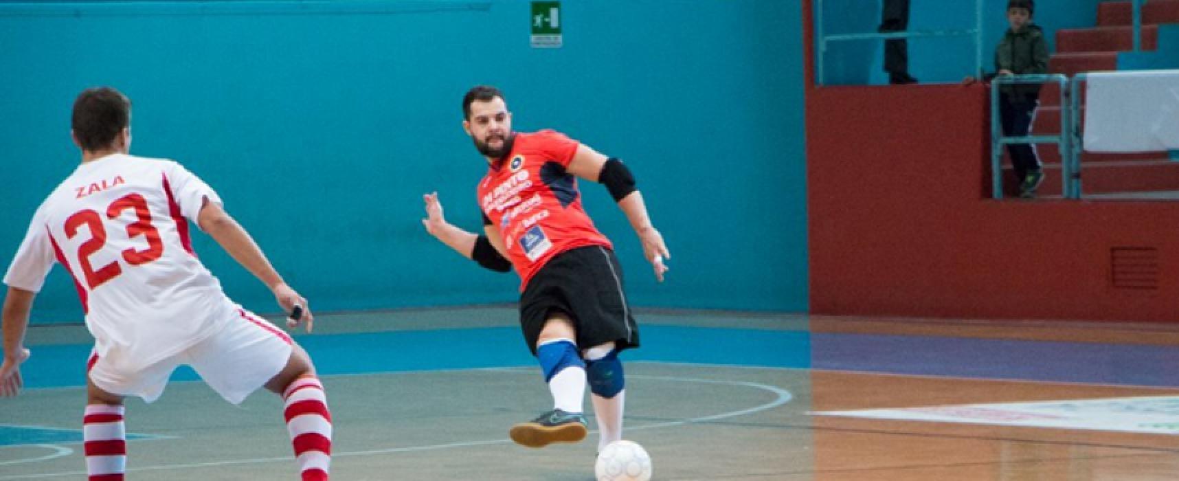 """Crollo Futsal Bisceglie, il Lido di Ostia sbanca il """"Paladolmen"""""""