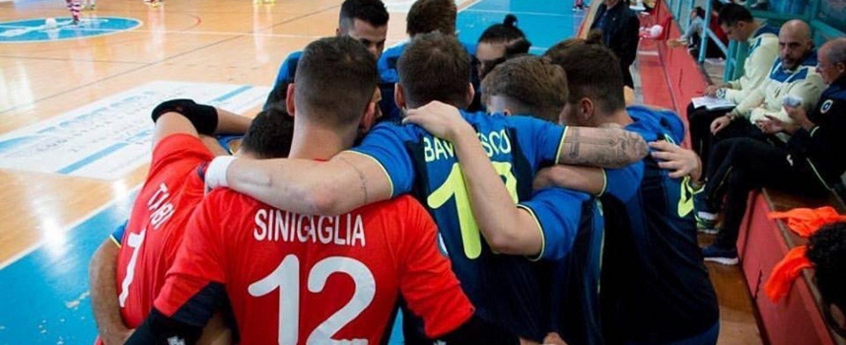 Futsal Bisceglie, a Barletta ultima speranza playoff